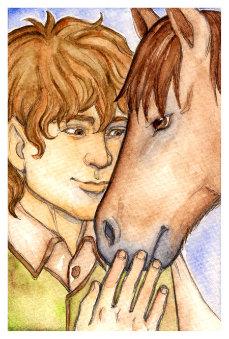 LOTR__Sam_and_Bill_by_foxysquid